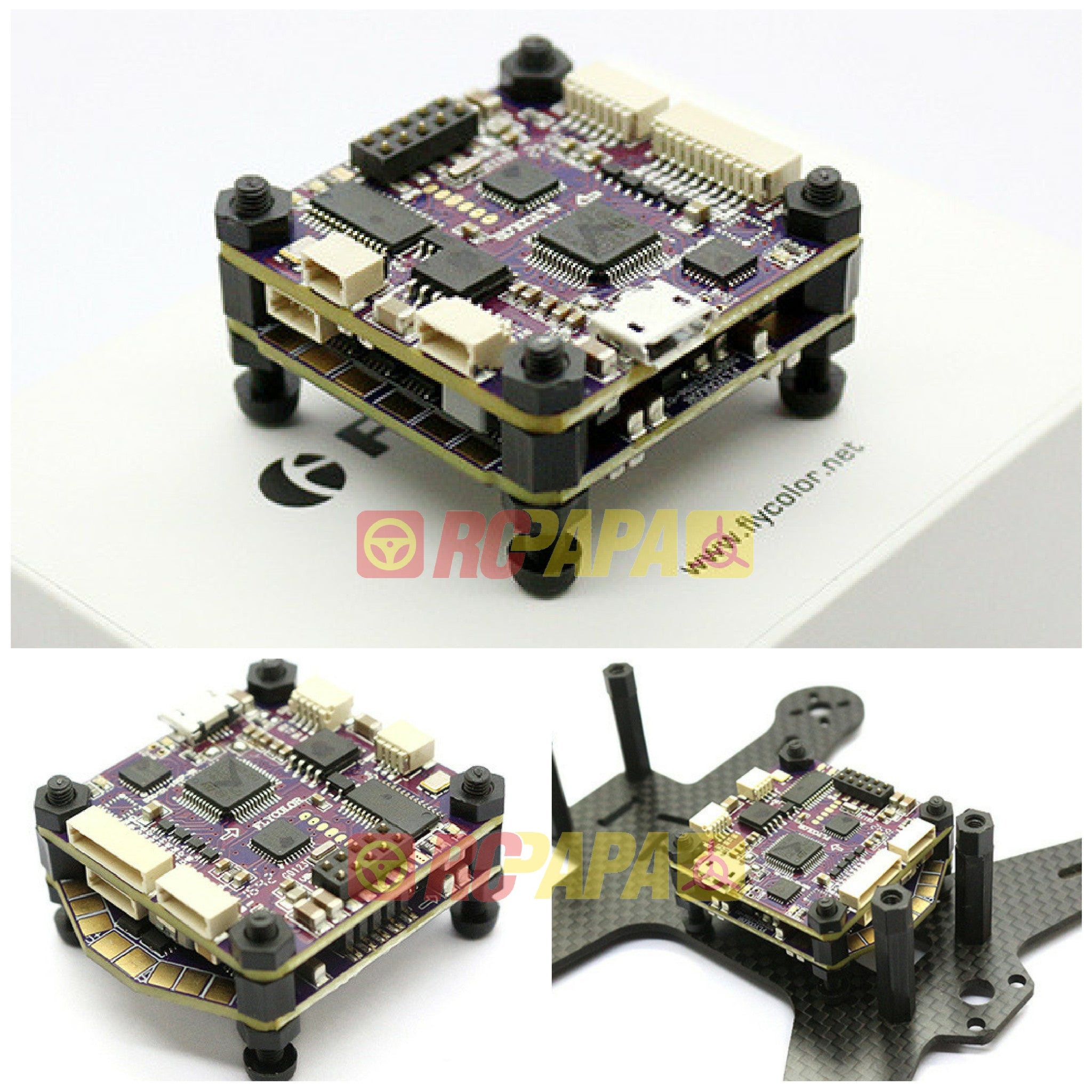 Fly Color Raptor390 Tower Flight Controller F3...