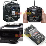 Futaba T16SZ 16-Channel 2.4GHz (Mode 2) Combo with R7008SB Receiver & Power Adapter - RC Papa