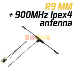 FrSky R9MM Receiver with 900MHz Ipex4 Antenna FCC - RC Papa