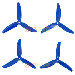 HQ 5x4x3 Tri-Blade Glass Fiber Carbonate Propellers (TP5x4x3V1S Chad Nowak Version) - RC Papa