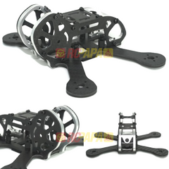 "Armattan Japalura FPV Racing Quad Frame Kit (3"" with PDB, Silver)"