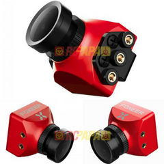 Foxeer Predator Mini 1000TVL 4:3 w/ OSD 1.8mm/2.5mm FPV Camera (Red/Blue)