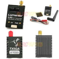 Lumenier TX5GA 5.8GHz Adjustable RF Power (25-600mw) FPV Transmitter - RC Papa