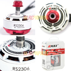 Emax RS2306 2750KV/2400KV Brushless Motor for FPV Racing (White Edition) - RC Papa
