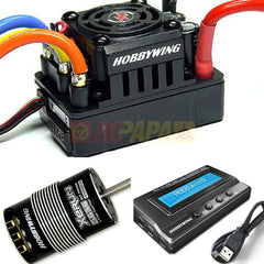 Hobbywing XERUN SCT Pro 120A 3656SD Sensored Brushless Combo for 1/10 RC Short Course - RC Papa
