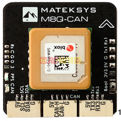 MatekSys GPS M8Q-CAN UAVCAN Compass & Barometer Module