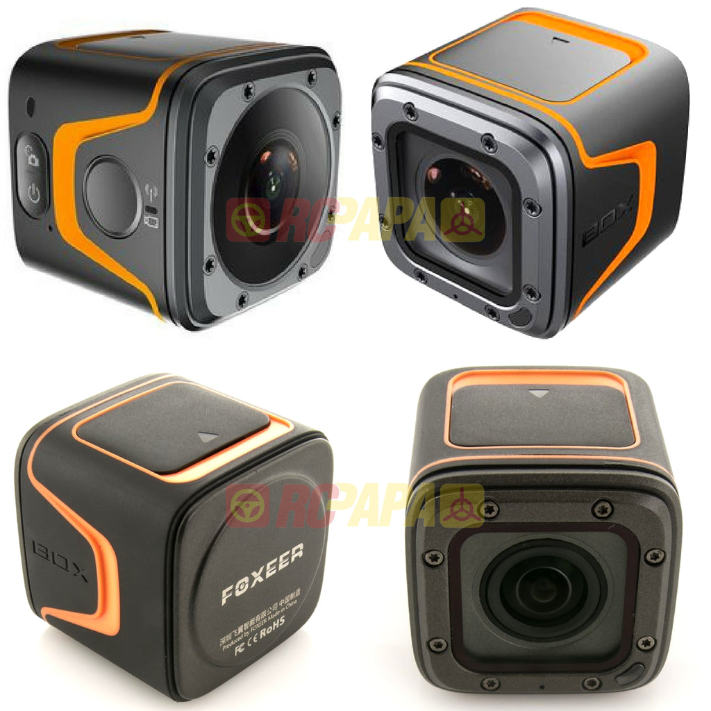 Foxeer Box 4K CMOS Action Cam - RC Papa