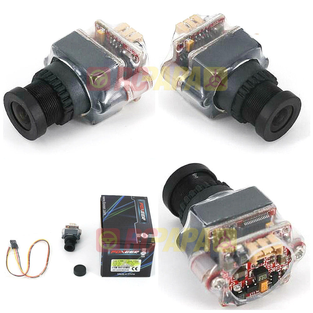 Foxeer XAT650M 600TVL 2.8mm Lens DC5-22V HS1177M Type Super HAD CCD Camera - RC Papa