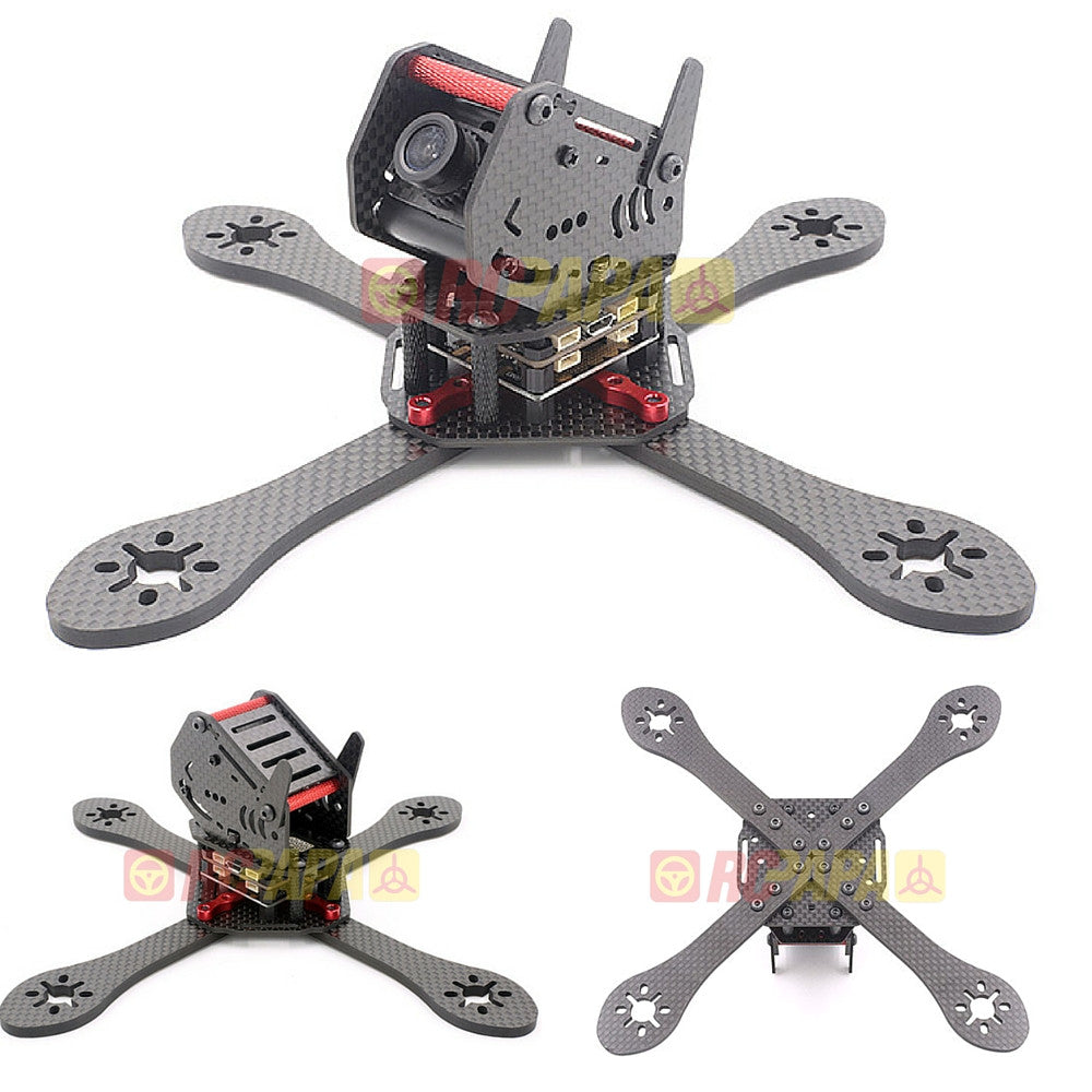 GEPRC ZX5 190mm 4-Axis Carbon Fiber FPV Racing Quadcopter Frame Kit - RC Papa