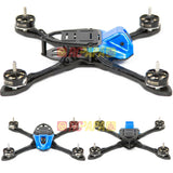 XLabs BRAAP FPV Race Quad Frame Kit - RC Papa