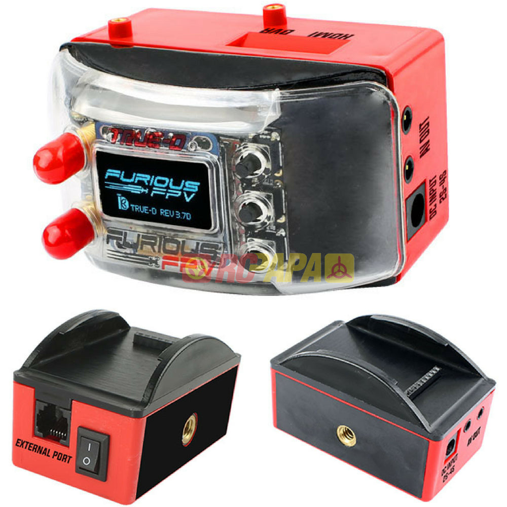 Furious FPV Combo Dock-King Ground Station and True-D Diversity Firmware 3.7D - RC Papa