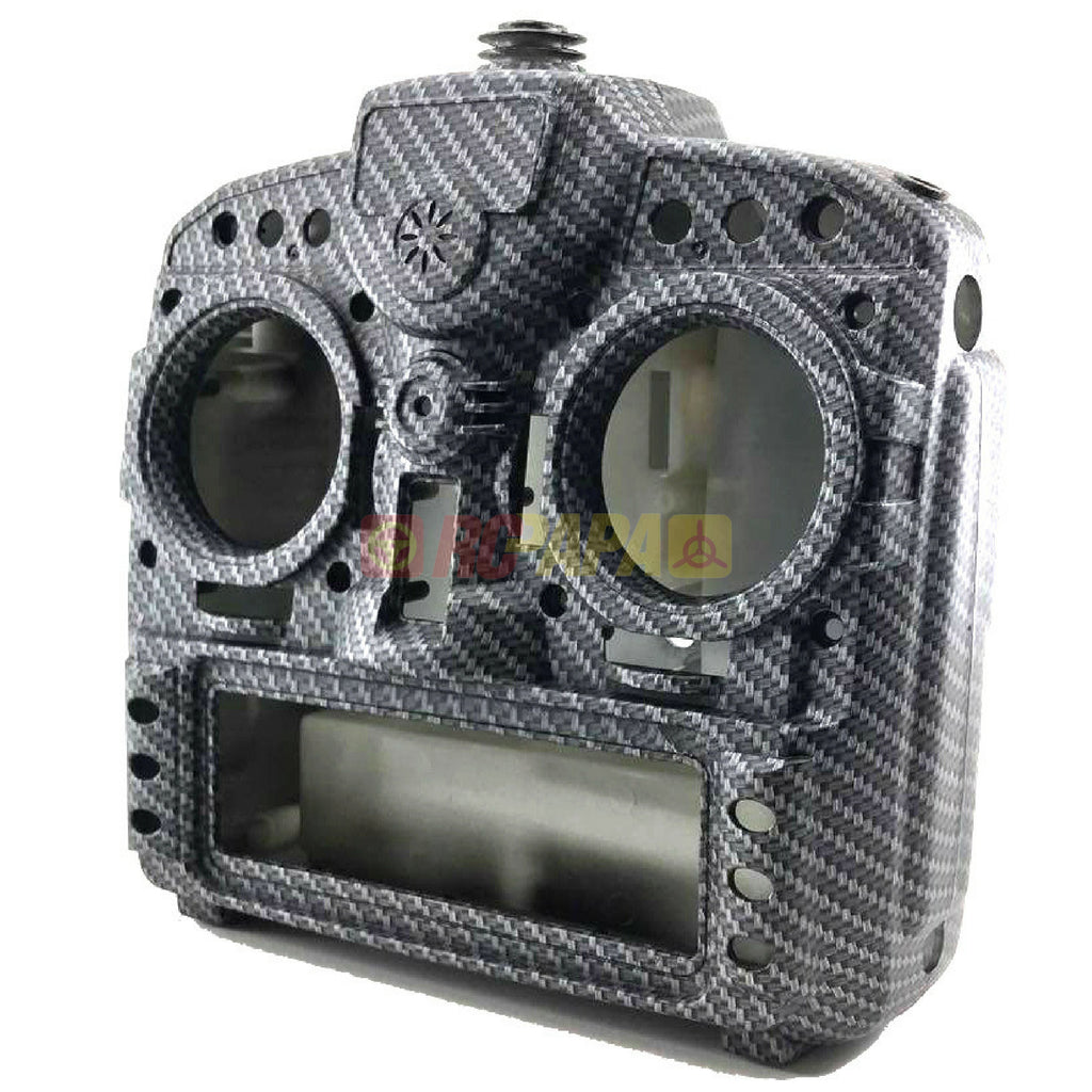 X9D Plus Taranis Radio Transmitter Water Transfer Shell (Silk Matte Carbon Fiber Pattern) - RC Papa