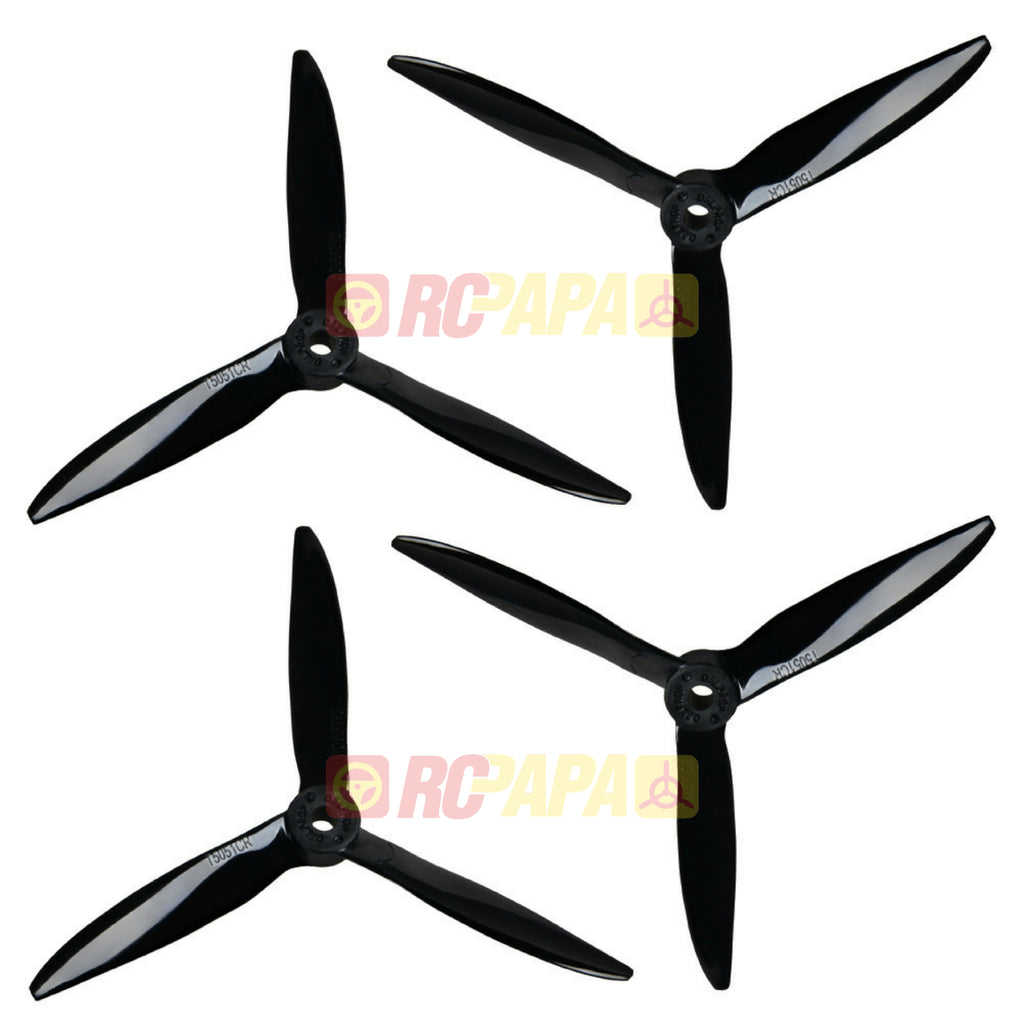 DALProp T5051C Cyclone Tri-Blade Propeller (4pc Set) - RC Papa