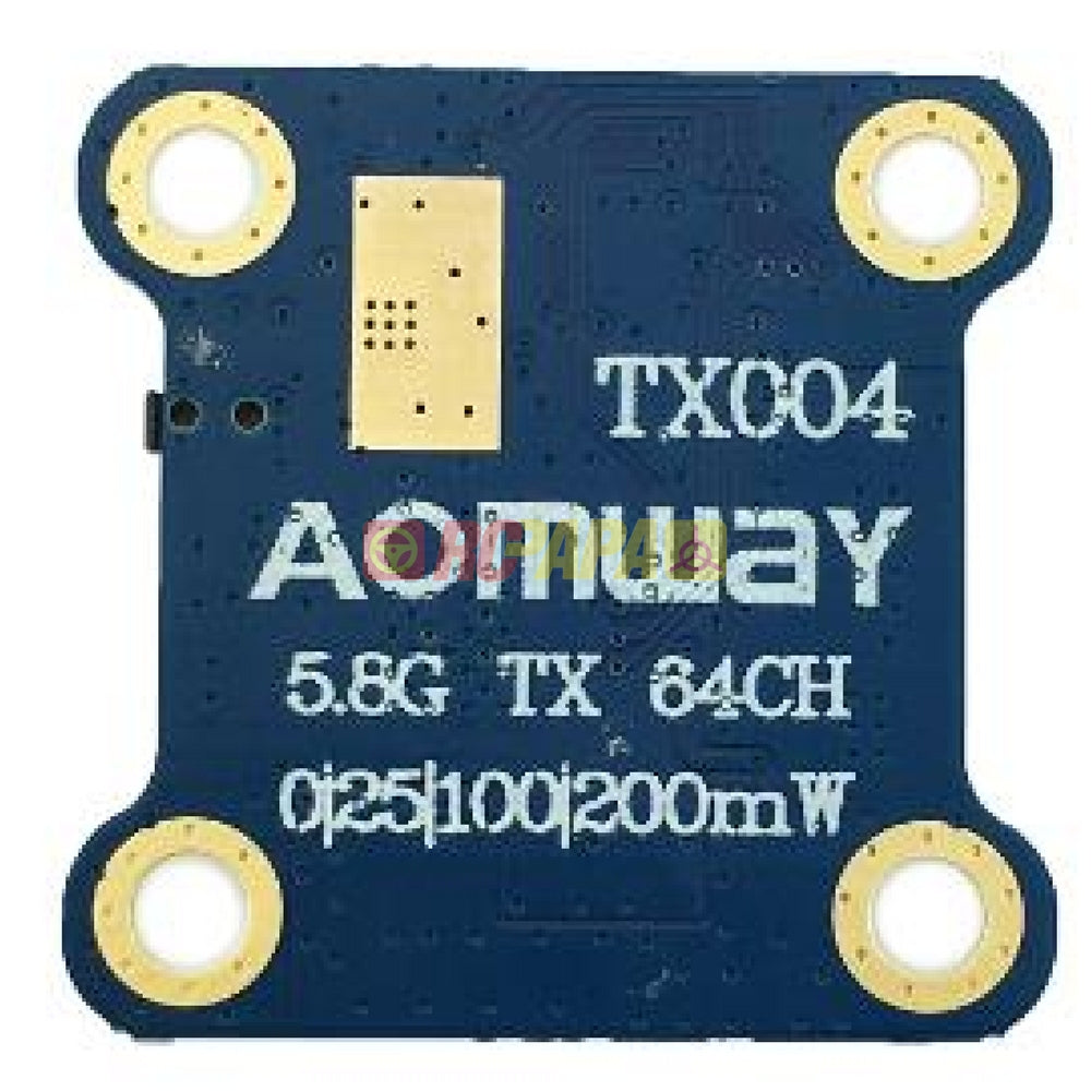 Aomway TX004 mini 5.8G 25mw/100mw/600mW Switchable FPV Transmitter Tx