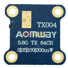 Aomway TX004 mini 5.8G 25mw/100mw/600mW Switchable FPV Transmitter Tx - RC Papa