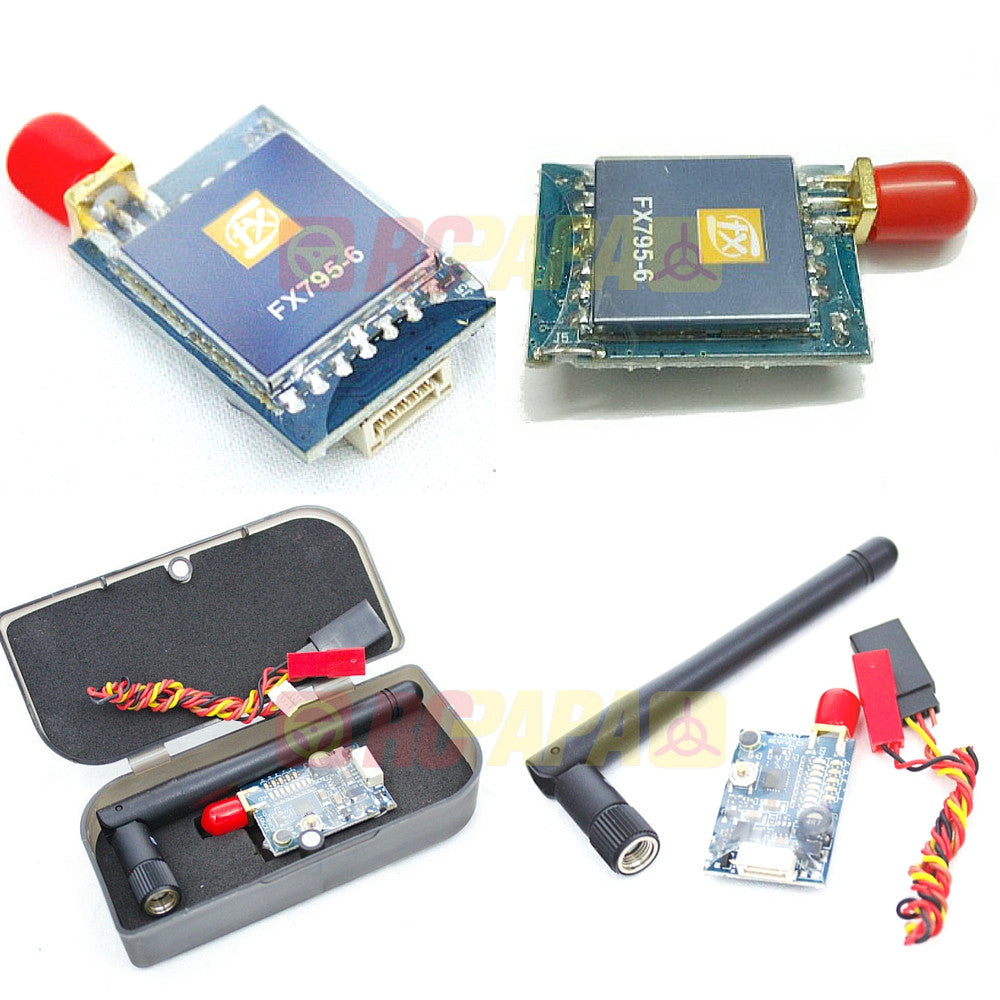 FXT FX795T 25/600mW 5.8GHz 40CH VTX Video Transmitter with Raceband (SMA) - RC Papa