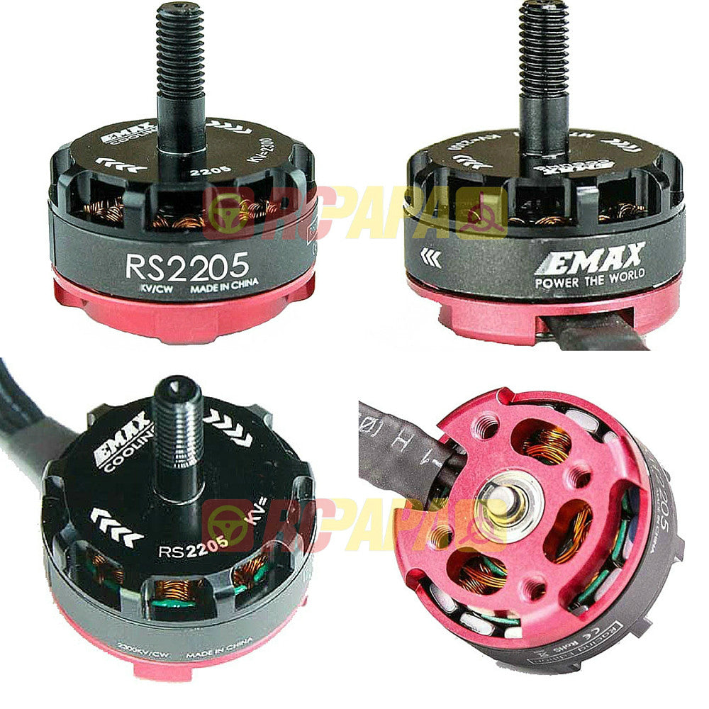 Emax RS2205 2600KV Brushless Motor for FPV (Racing Edition) - RC Papa