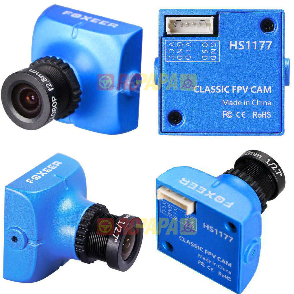 Foxeer HS1177v2 600TVL FPV Camera (2.8mm Lens / IR Block) - RC Papa