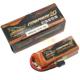 Dinogy Ultra Graphene 2.0 14.8v 4s 1850mah 80c Lipo Battery - RC Papa