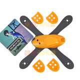"ShenDrones Mako 5"" 225mm X Quad Carbon Fiber Frame & Canopy (Orange) - RC Papa"