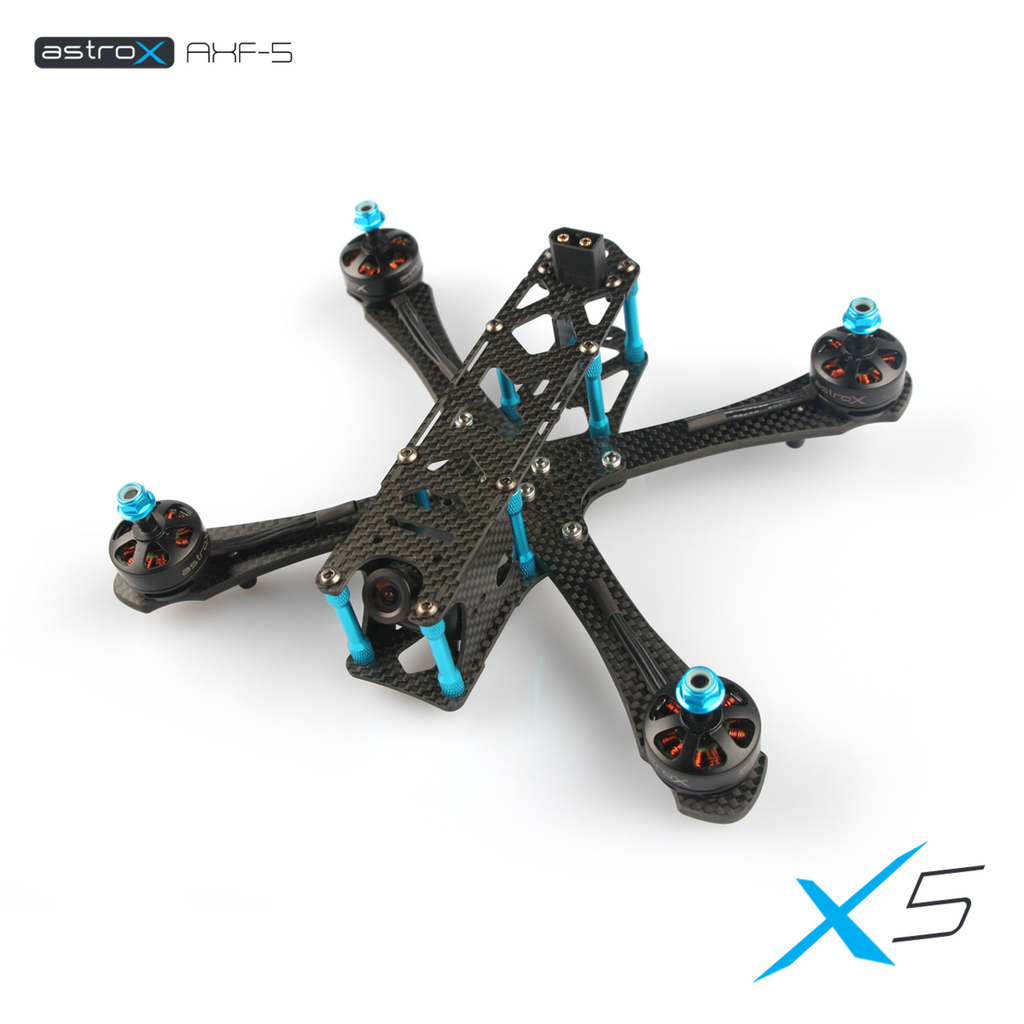 AstroX X5 FPV Freestyle Frame (Silky Version) - RC Papa