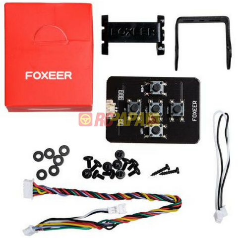 Foxeer Predator Mini 1000TVL 4:3 w/ OSD 1 8mm/2 5mm FPV Camera  (Red/Blue/Black/Purple)