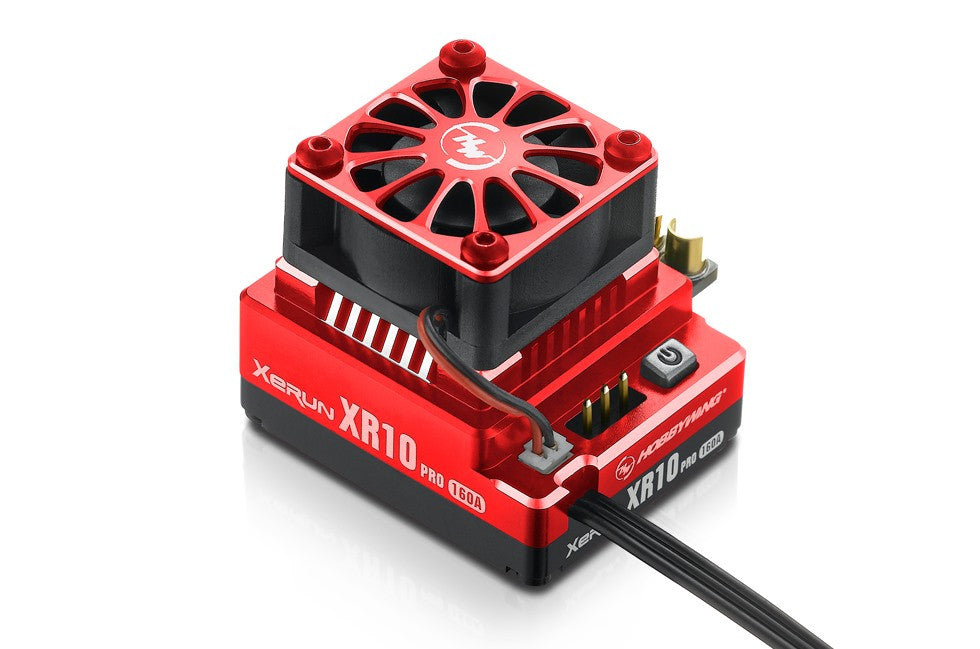 Hobbywing XERUN XR10 PRO Brushless ESC (Red) - RC Papa