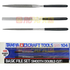 Tamiya Smooth Double Cut Basic File Set - RC Papa - 1