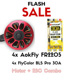 AokFly FR2205 + FlyColor BLS Pro 30A (Motor & ESC Combo) - RC Papa