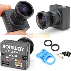 "Aomway 700TVL HD 1/3"" CMOS Wide Angle Mini FPV Camera - RC Papa"