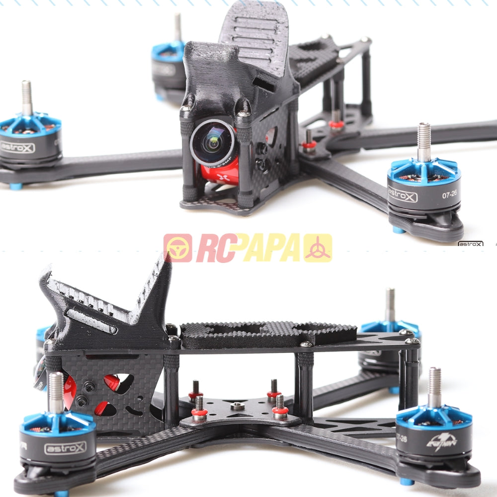 AstroX X5 JohnnyFPV Edition Free-Style Frame Kit with Plastic Full Kit - RC Papa