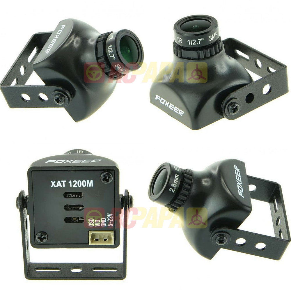 Foxeer XAT1200M 16:9 1200TVL DC5-22V HS1189 Mini FPV Camera - RC Papa