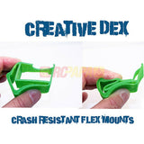 Creative Dex 40 Degree Stargazer GoPro Camera Mount for FPV Quad - RC Papa