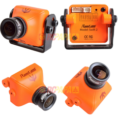 RunCam Swift 2 mini FPV Camera (Orange 2.5mm Lens IR-Blocked) - RC Papa