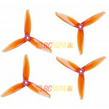 Gemfan 5152 Flash Series Tri-Blade Propellers (4pc Set) - RC Papa