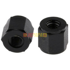 6mm High Nylon Threaded Hex Spacer 6mm Wide for M3 Thread (4pc)