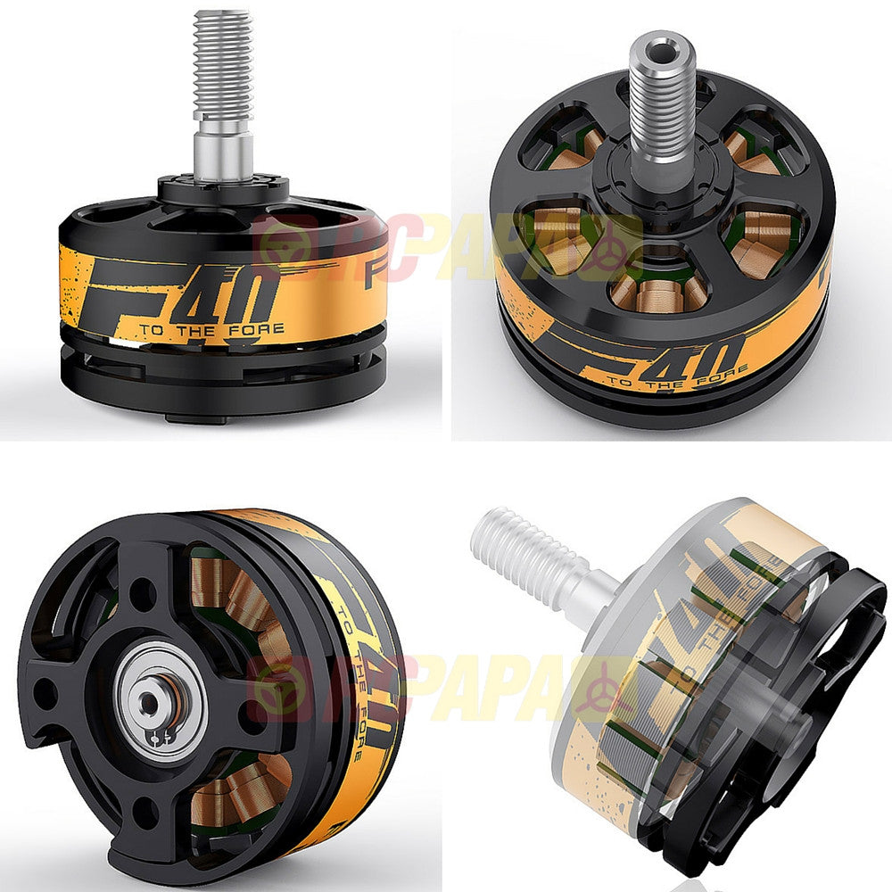 t motor f40 2500kv brushless motor for fpv race set of 2