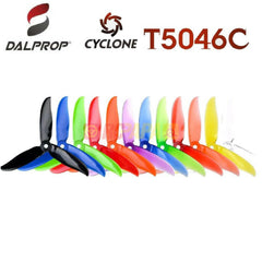 DALProp T5046C Cyclone Tri-Blade Propeller (4pc Set) - RC Papa