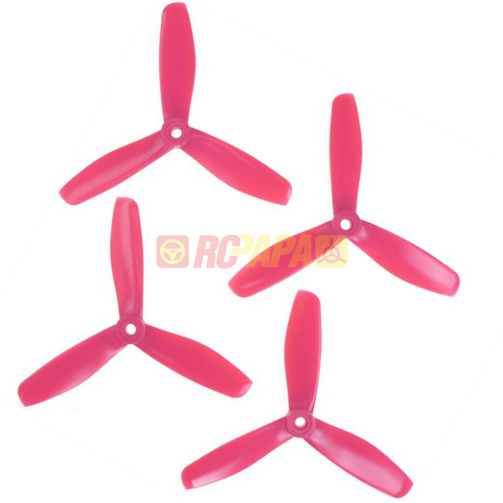 "HQ 5"" 5x4.5x3 PC v2 Tri-Blade Polycarbonate Propellers - RC Papa"