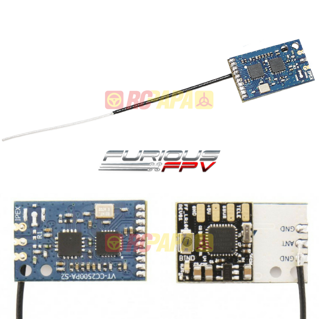 Furious FPV LR1000 Mini Receiver for FrSky (FPV-0151-S) - RC Papa