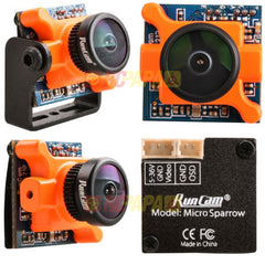 RunCam Micro Sparrow FPV Camera (2.1mm FOV145° 16:9)