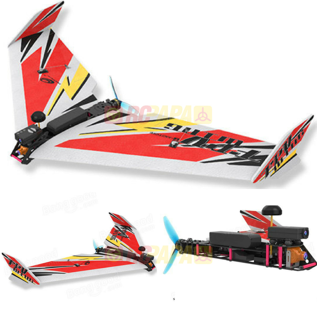 TechOne FPV Wing 900 Carbon Frame Kit - RC Papa