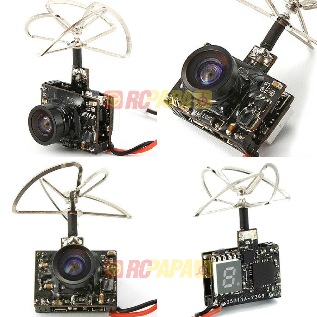 Eachine TX03 Micro AIO 5.8G 72CH Switchable 25mW/50mW/200mW VTX 600TVL FPV Camera - RC Papa