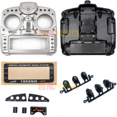 FrSky X9D Plus Taranis Radio Transmitter Replacement Case/Sticker/Plate/Button Full Set - RC Papa - 1