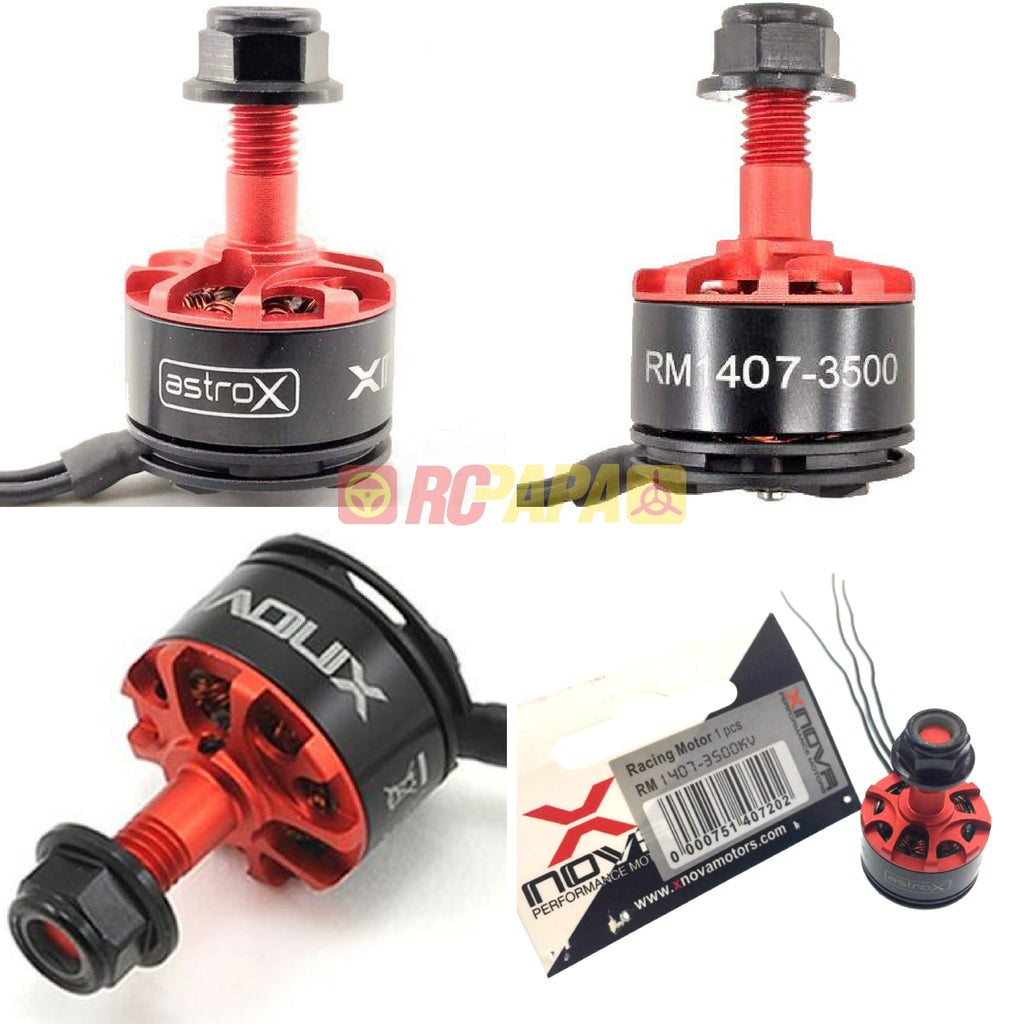 Xnova 1407 3500KV FPV Quad Motor (4pc Set) - RC Papa