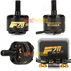 T-Motor F20 II 1408 3750KV 2-4S Brushless Motor for FPV Race (4pc Set)