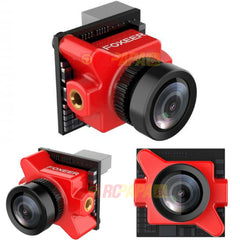 Foxeer Predator Micro 1000TVL w/ OSD Super WDR 1.8mm Lens FPV Camera (Red/Black) - RC Papa