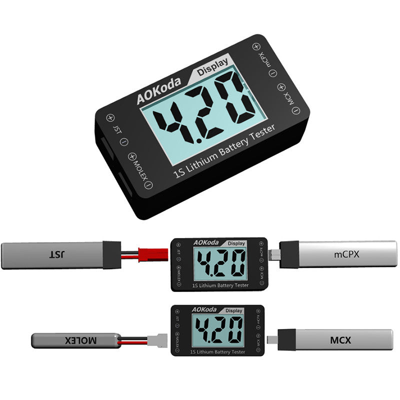 AOKoda 1S LiPo Battary Voltage Tester (AOK-041)