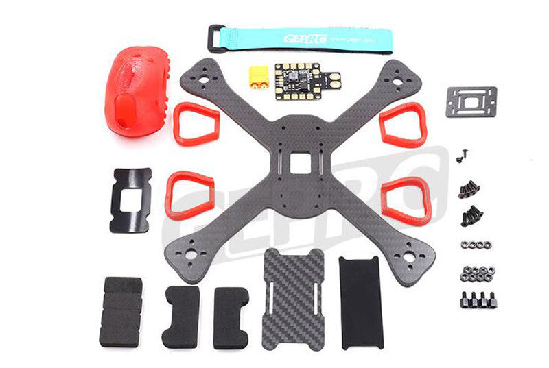GEPRC GEP-BX5 210mm Carbon Fiber FPV Racing Quad Frame Kit - RC Papa