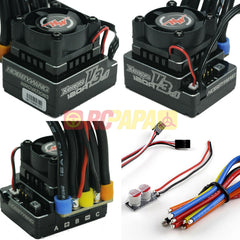 Hobbywing XERUN 120A v3.1 Speedo Sensored Brushless ESC for 1/10 1/12 RC - RC Papa